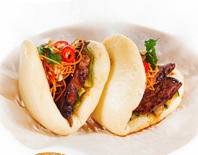 Bao with duck breast
