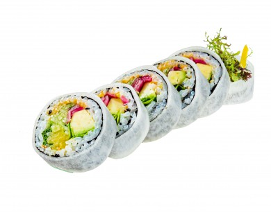 Vegetarian roll in a dyke